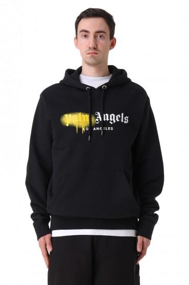 Худи oversize с логотипом PALM ANGELS PLMm11026