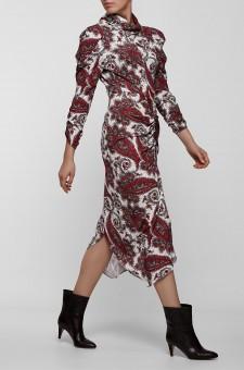Платье c принтом