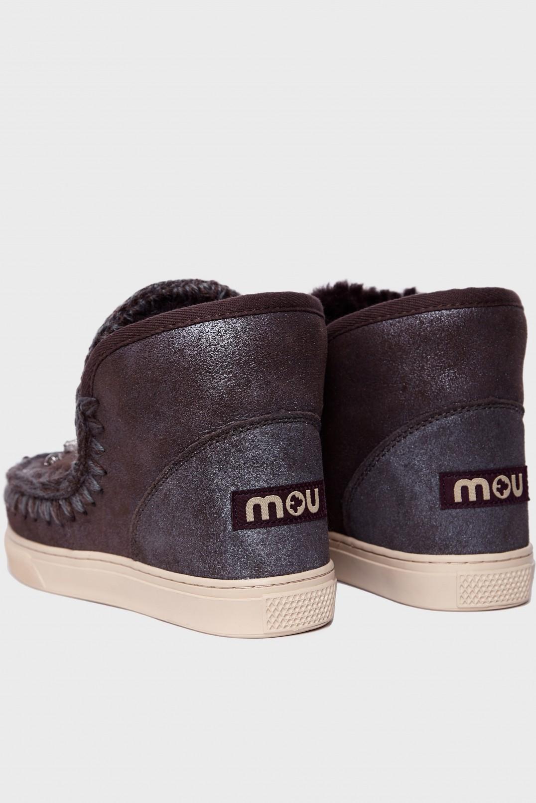 Ботинки в стразах MOU MOU28005