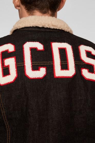 Джинсовая куртка с логотипом GCDS GCDm28008