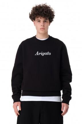 AXEL ARIGATO Свитшот oversize c логотипом