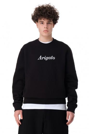 Свитшот oversize c логотипом AXEL ARIGATO AAmp11004