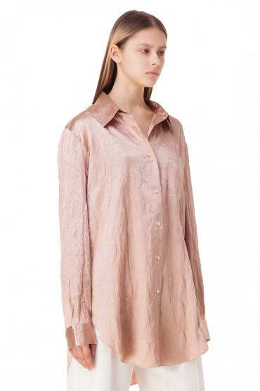 Блуза oversize ACNE STUDIOS ACw10020