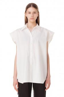Рубашка без рукавов oversize