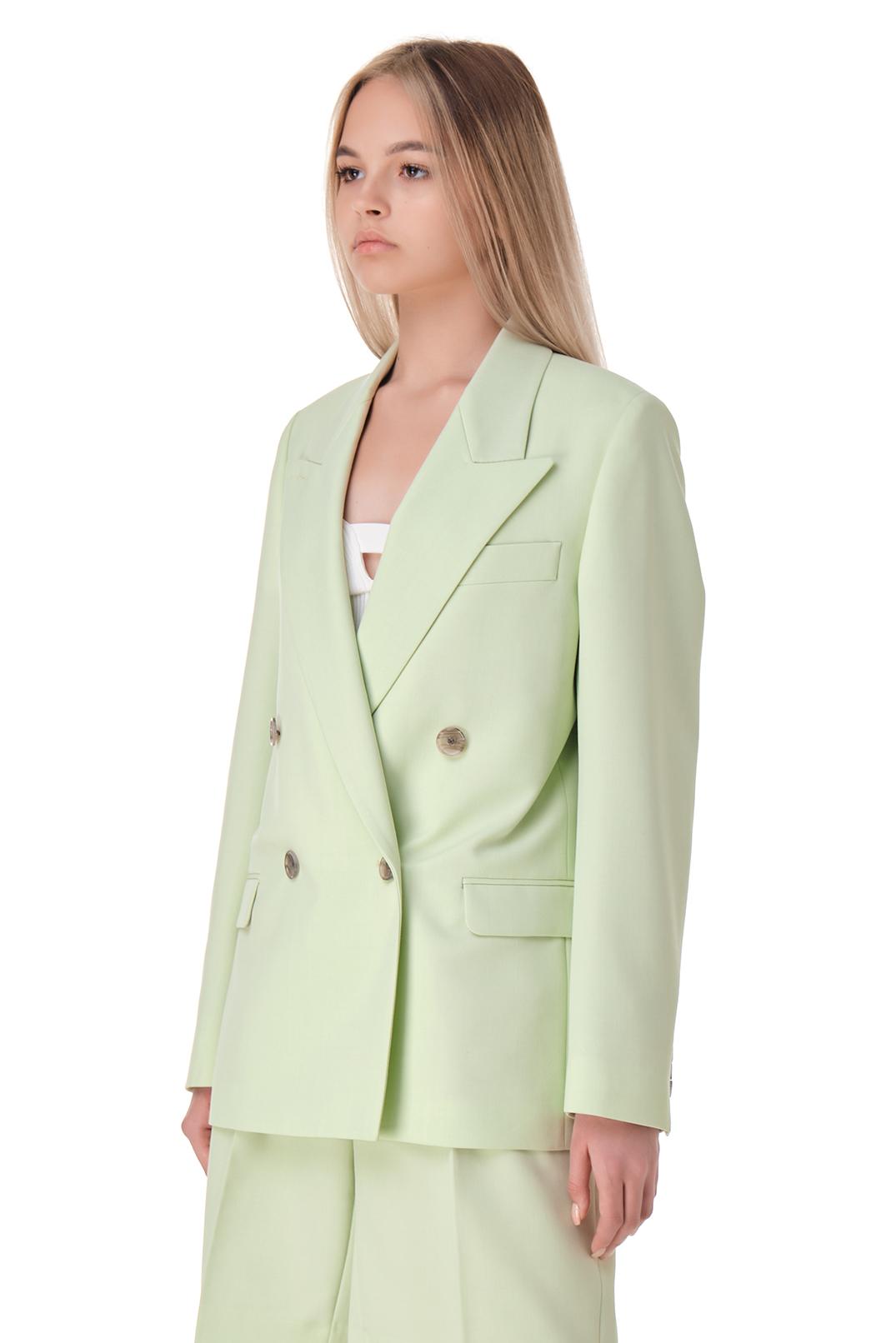 Двубортный пиджак ACNE STUDIOS ACw11013