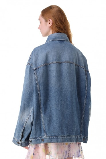Джинсовая куртка ACNE STUDIOS ACw11028