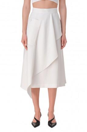 AKIRA NAKA Асимметричная юбка