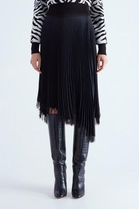 A.L.C. Плиссированная юбка на запах