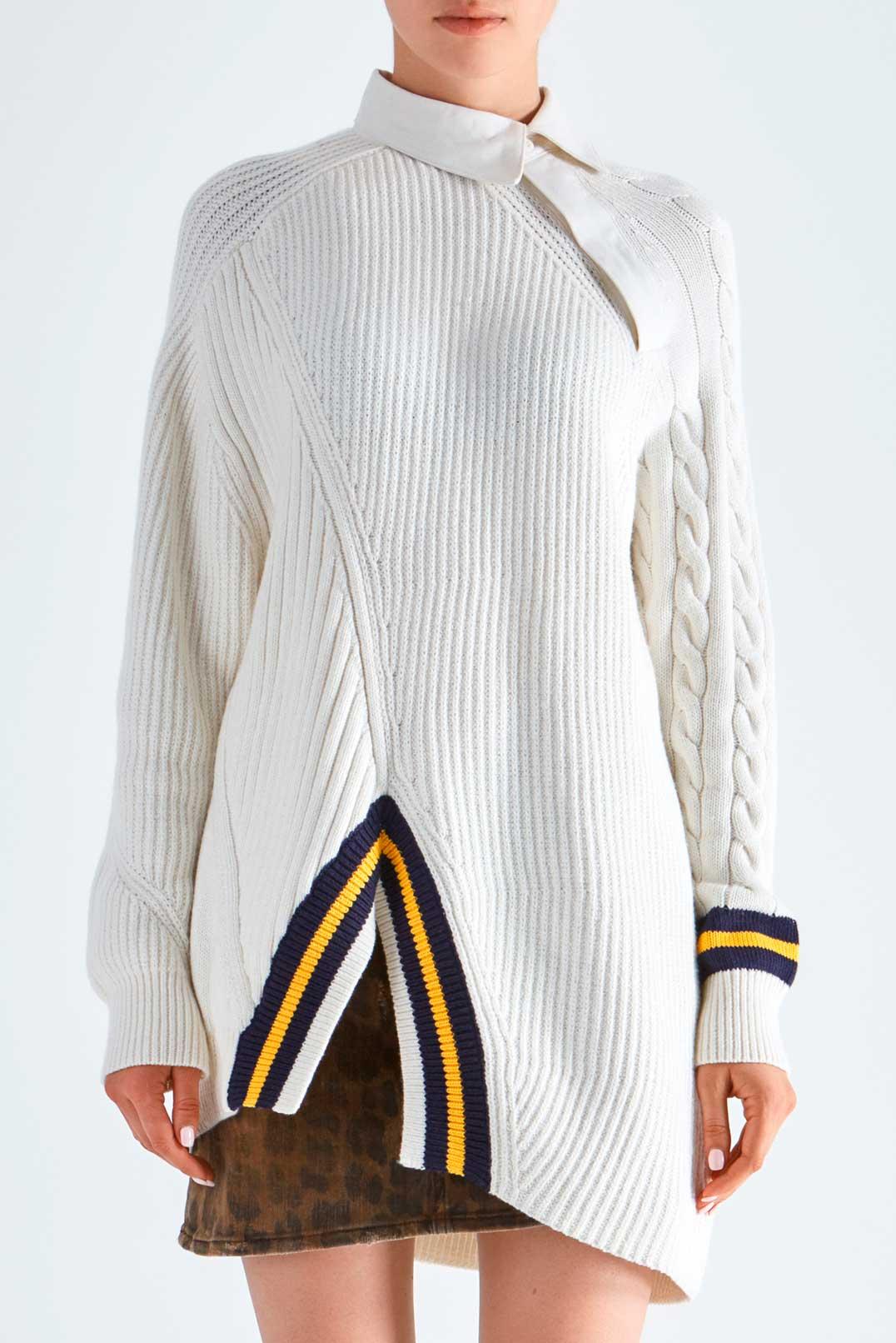 Асимметричный свитер ALEXANDER WANG ALW29001