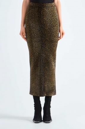 ALEXANDERWANG Леопардовая юбка