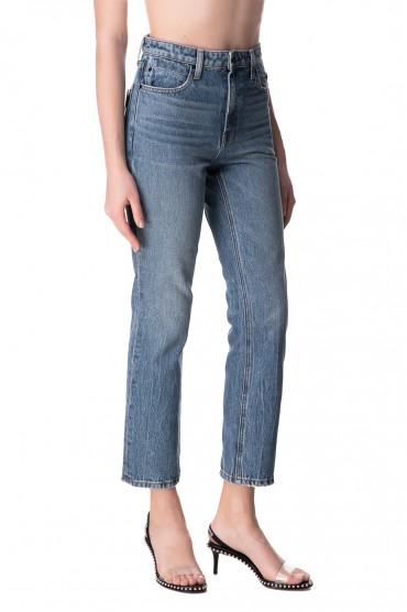 Укороченные джинсы ALEXANDER WANG ALWd10003