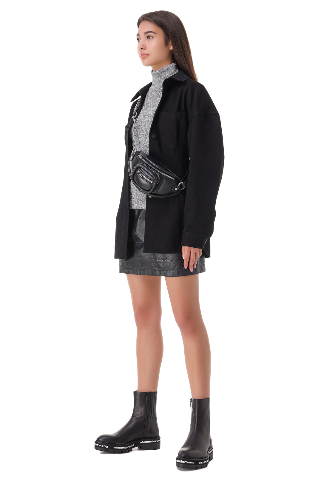Джинсовая рубашка ALEXANDER WANG ALWp21006