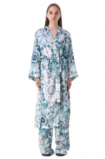 Платье с принтом на запах ALEXIS ALXp21013