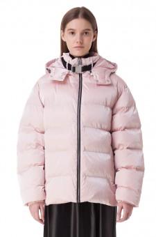 Стеганая куртка oversize