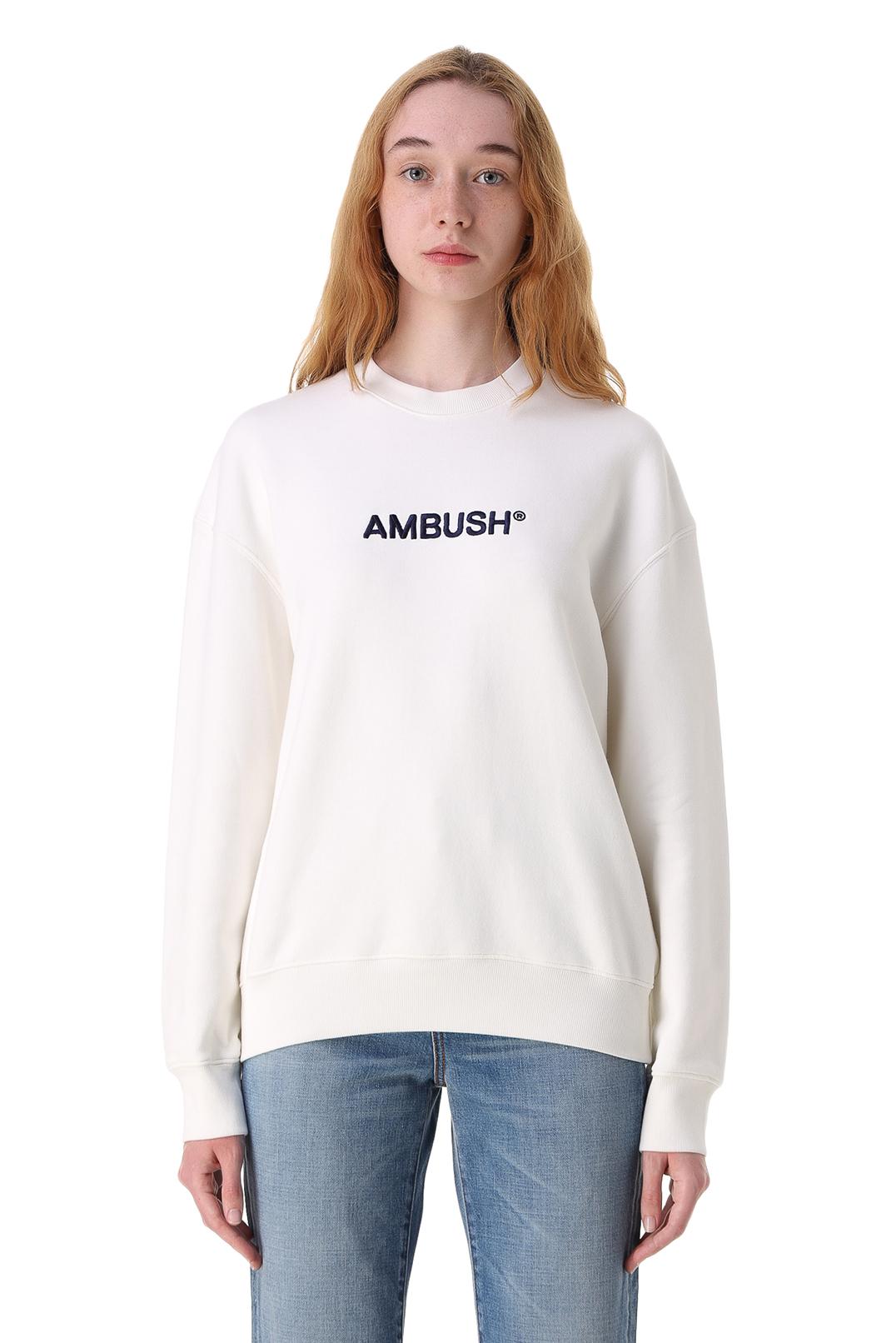 Свитшот с логотипом AMBUSH AMB11004
