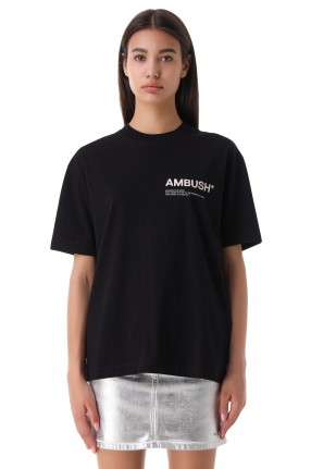 AMBUSH Футболка oversize с логотипом