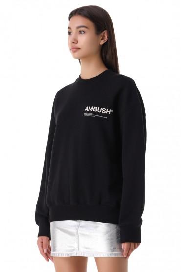 Свитшот oversize c логотипом AMBUSH AMB21007
