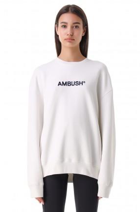 AMBUSH Свитшот oversize c логотипом