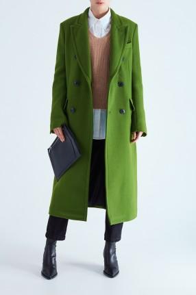 AMI Двубортное пальто oversize