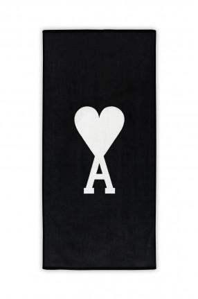AMI PARIS Полотенце с логотипом