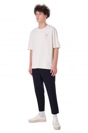 AMI PARIS Укороченные брюки с эластичным поясом