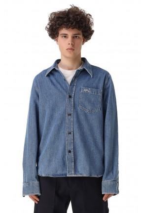 AMI PARIS Джинсовая рубашка