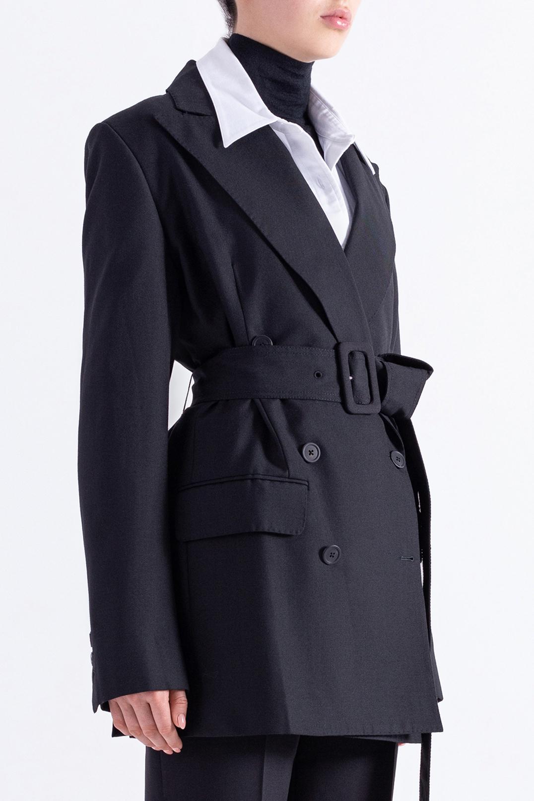 Двубортный пиджак ANN DEMEULEMEESTER AND29001
