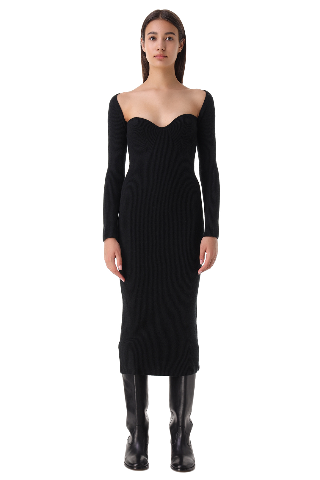 Платье в рубчик ARCH4 ARCH21008