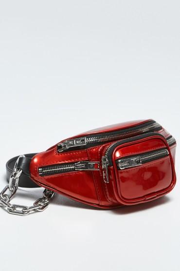 Лакированная сумка через плечо ALEXANDER WANG AWbp19009