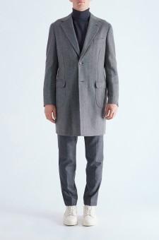 Пальто в елочку
