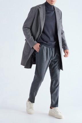 BARBA Пальто в елочку