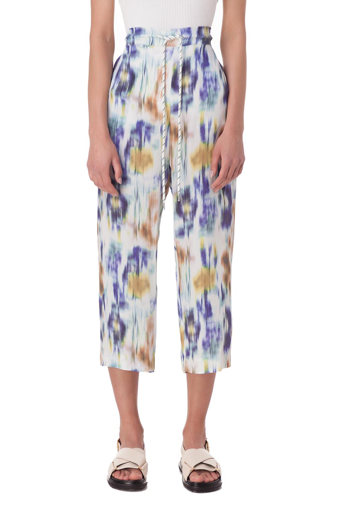 Укороченные брюки с принтом BAUM UND PFERDGARTEN BAUM10006