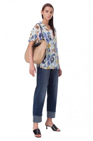 Блуза с принтом BAUM UND PFERDGARTEN BAUM10007