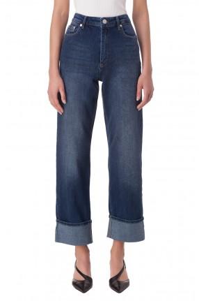 BAUM UND PFERDGARTEN Укороченные джинсы с подворотами