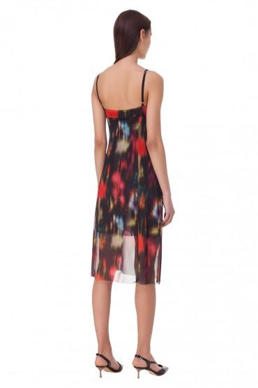 Платье-комбинация с принтом BAUM UND PFERDGARTEN BAUM10014