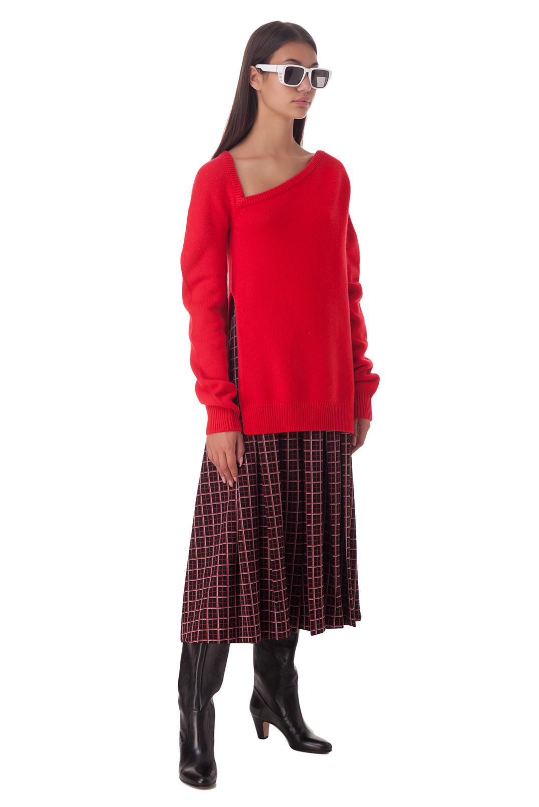 Удлиненный свитер CHRISTOPHER KANE CHR20001
