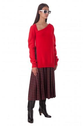 CHRISTOPHER KANE Удлиненный свитер