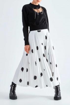 CHRISTOPHER KANE Плиссированная юбка