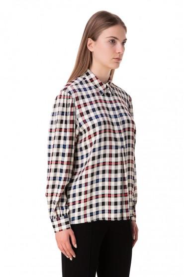 Рубашка в клетку DESIGNERS REMIX DESp10004