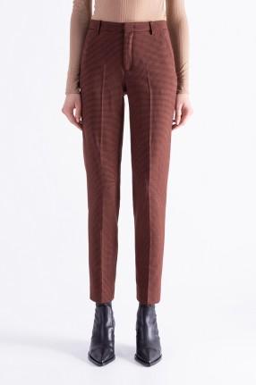 DESIGNERS REMIX Укороченные брюки в гусиную лапку