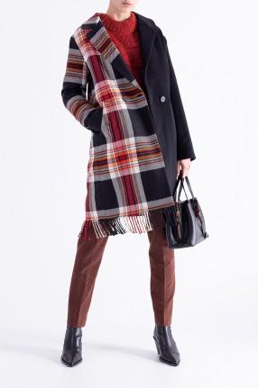DESIGNERS REMIX Двубортное пальто