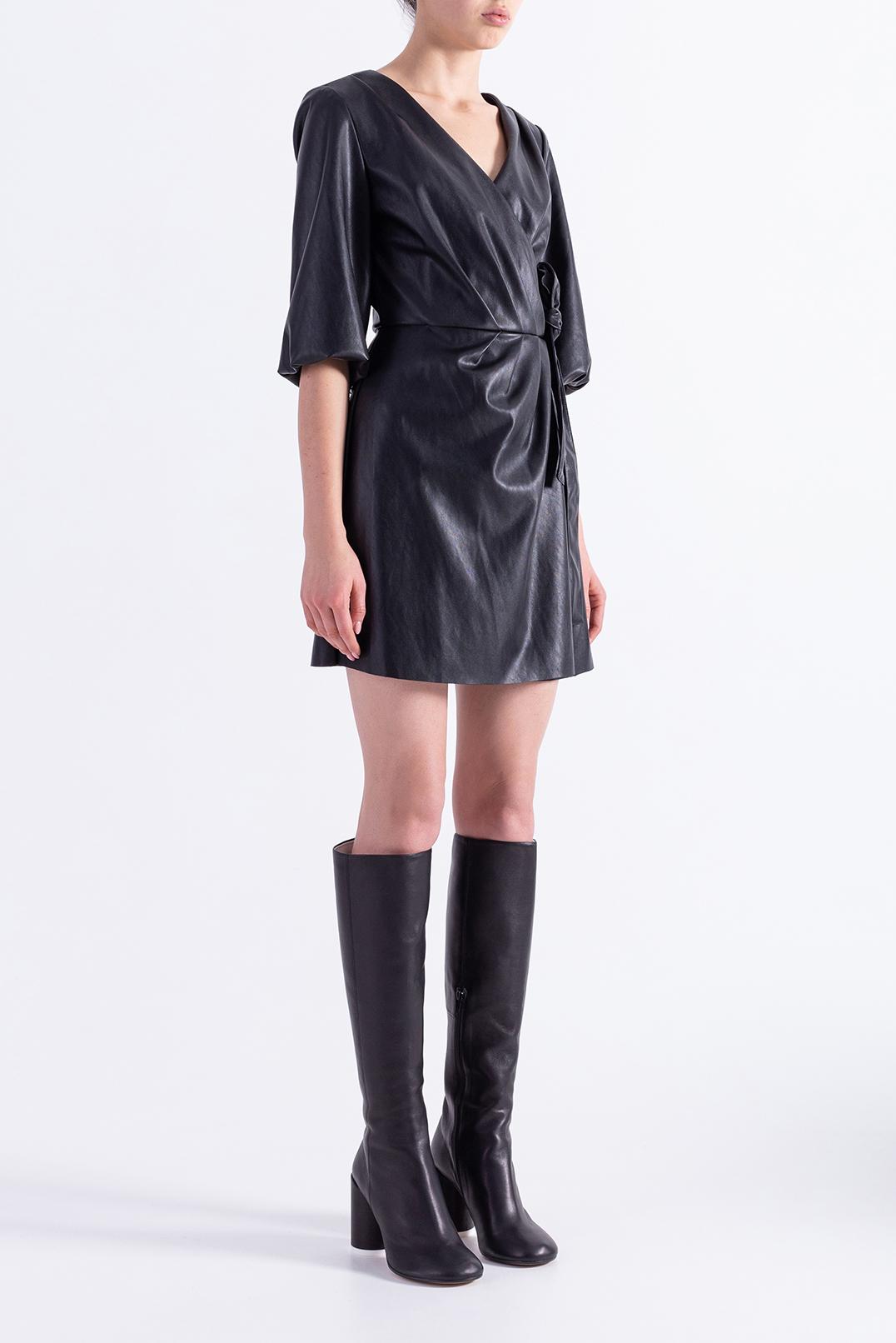 Платье на запах DESIGNERS REMIX DESw29011