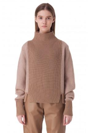 DROME Двухцветный свитер