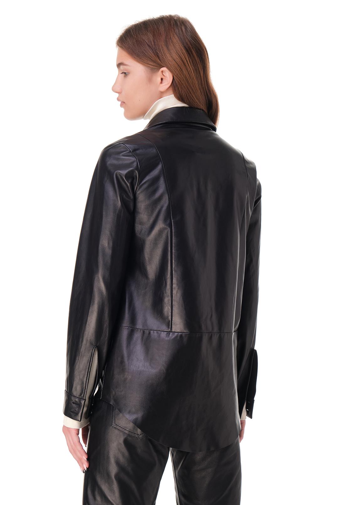 Кожаная рубашка DROME DRM20011