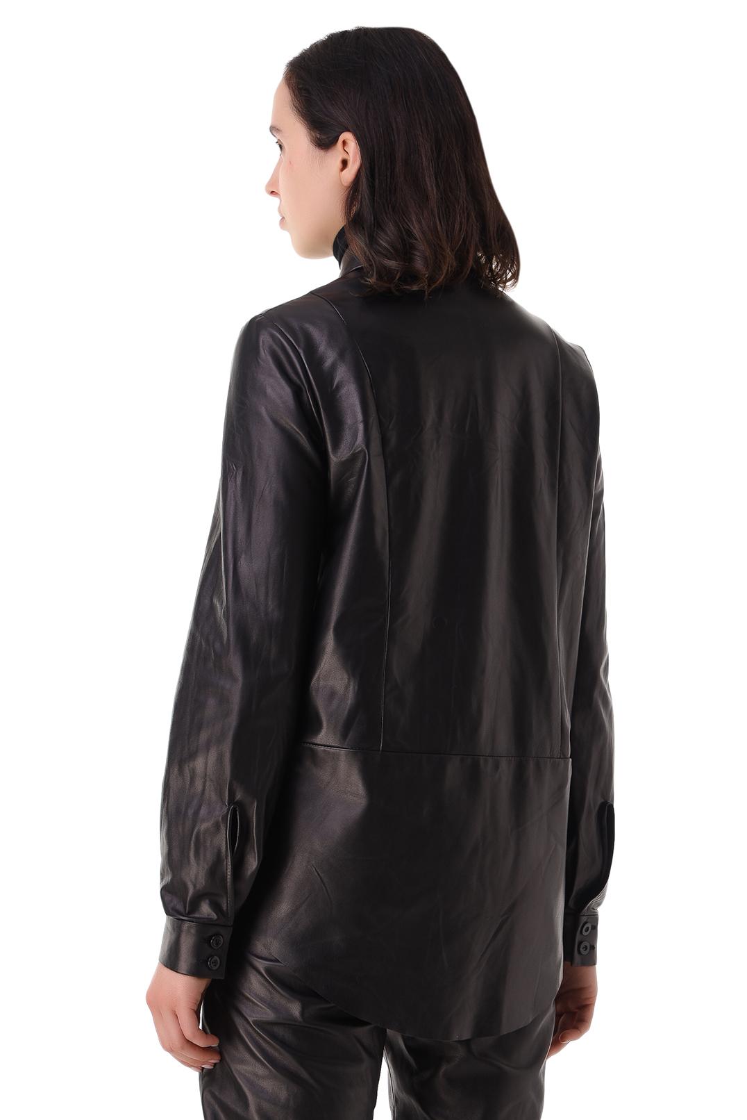 Кожаная рубашка DROME DRM21001