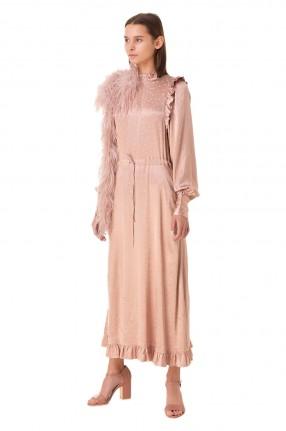 ESSENTIEL ANTWERP Платье с оборками