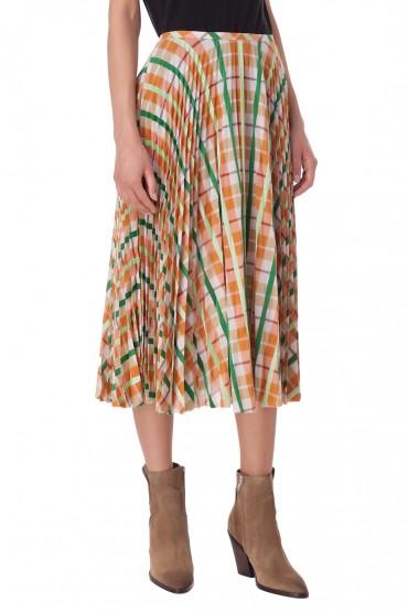 Плиссированная юбка с принтом ESSENTIEL ANTWERP ESAw10005