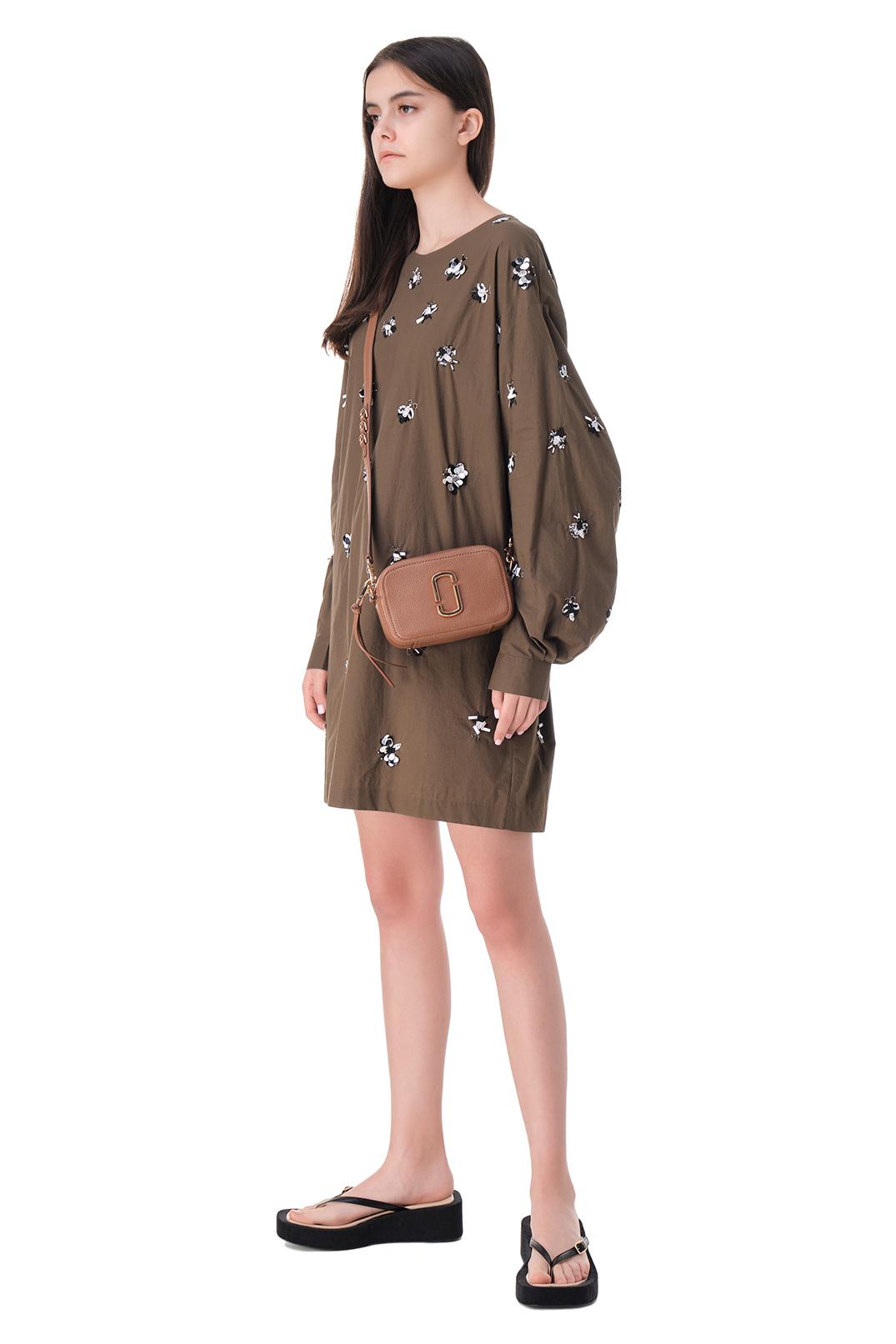Платье с вышивкой из бисера и пайеток ESSENTIEL ANTWERP ESAw11006