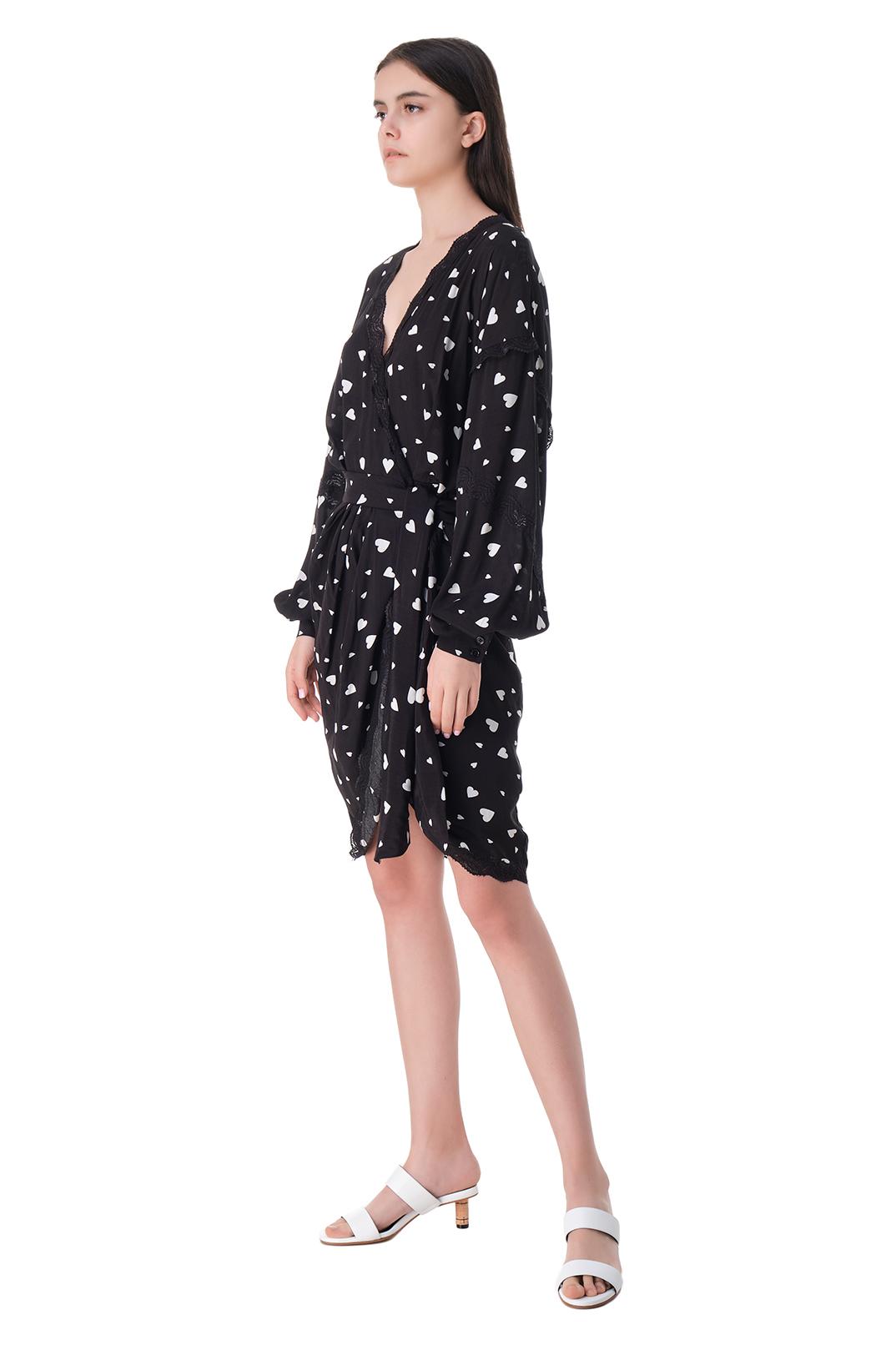 Платье на запах с принтом ESSENTIEL ANTWERP ESAw11009