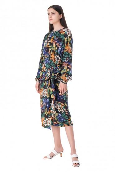 Платье с принтом ESSENTIEL ANTWERP ESAw11011